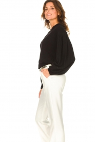 ba&sh    Cardigan with puff sleeves Damian   black    Picture 5