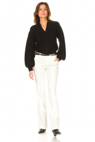 ba&sh    Cardigan with puff sleeves Damian   black    Picture 3