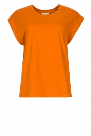 Notes Du Nord |  Brown T-shirt Porter | orange  | Picture 1