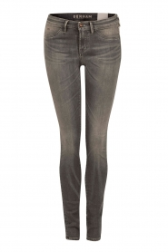 High waisted skinny jeans Spray Gars lengtemaat 34 | grijs