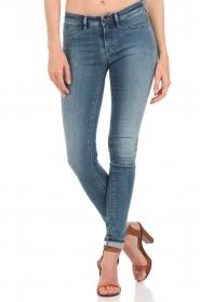 Denham | High waisted skinny jeans Spray YDF lengtemaat 32 | blauw  | Afbeelding 2