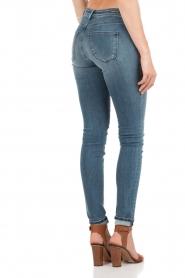 Denham | High waisted skinny jeans Spray YDF lengtemaat 32 | blauw  | Afbeelding 5