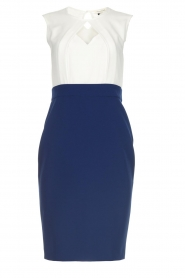 Kocca |  Cocktail dress Quieta | blue  | Picture 1