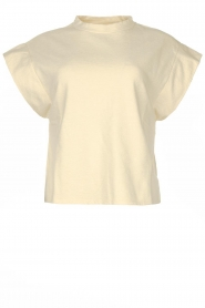 ba&sh |  Top with padded shoulders Elix | natural  | Picture 1