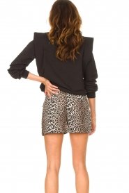 Notes Du Nord    Sweater with ruffles Simone   black    Picture 6