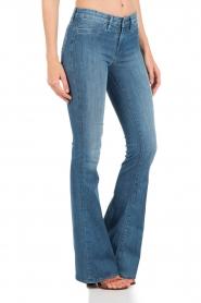 Denham | High waisted flared jeans Farrah YSNL lengtemaat 34 | blauw  | Afbeelding 4