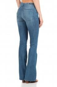 Denham | High waisted flared jeans Farrah YSNL lengtemaat 34 | blauw  | Afbeelding 5