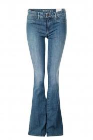 Denham | High waisted flared jeans Farrah YSNL lengtemaat 34 | blauw  | Afbeelding 1