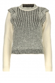 ba&sh |  Sweater with shoulder details District | natural  | Picture 1