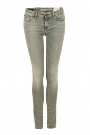 Mid rise Skinny jeans Sharp lengtemaat 32 | blauw