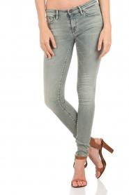 Denham | Mid rise Skinny jeans Sharp lengtemaat 32 | blauw  | Afbeelding 2