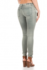 Denham | Mid rise Skinny jeans Sharp lengtemaat 32 | blauw  | Afbeelding 5