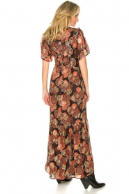 ba&sh |  Maxi dress with lurex Hilde | black  | Picture 6