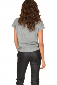 Set | 100% katoenen T-shirt Lover | grijs  | Afbeelding 4