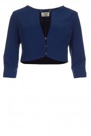 Kocca |  Short jacket Valna | blue  | Picture 1
