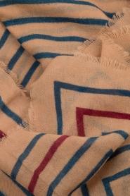 Becksöndergaard | Wollen sjaal Annibal | camel  | Afbeelding 3
