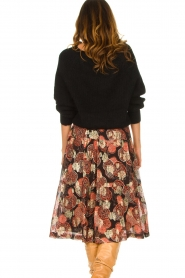 ba&sh :  Lurex midi skirt Heidi | black - img5