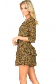 Les Favorites |  Printed dress Flori | black  | Picture 6