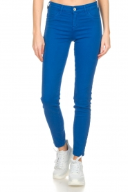 Kocca |  Coloured skinny jeans Sofie | blue  | Picture 2