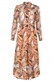 ba&sh |  Printed maxi dress Toni | beige  | Picture 1