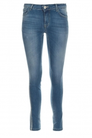 Kocca |  Skinny jeans with side stripes Bagkin | blue  | Picture 1