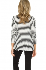 Set |  Striped T-shirt Ambra | White  | Picture 5