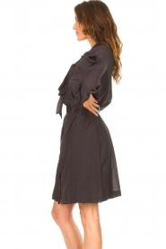 Les Favorites |  See-through oversized dress Norah | black  | Picture 6