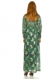 ba&sh :  Floral maxi dress Quartz | green - img5