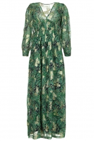 ba&sh |  Floral maxi dress Quartz | green  | Picture 1