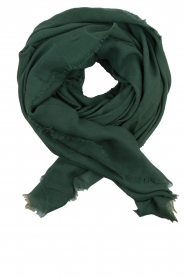 Becksöndergaard   Wollen sjaal Mill   groen    Afbeelding 2