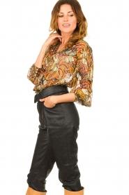ba&sh |  Floral blouse Quincy | camel  | Picture 5