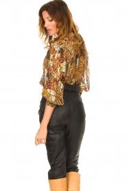 ba&sh |  Floral blouse Quincy | camel  | Picture 6
