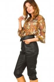 ba&sh |  Floral blouse Quincy | camel  | Picture 4