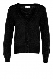 Les Favorites |  Cardigan with buttons Marsha | black  | Picture 1