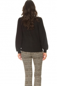 Les Favorites |  Cardigan with buttons Marsha | black  | Picture 7