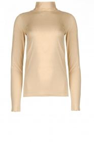 CC Heart |  Turtleneck top Anna | natural  | Picture 1