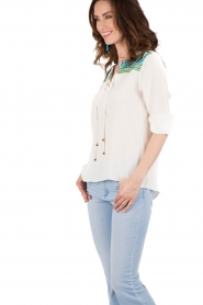 Hale Bob | Blouse Beverly | wit | Afbeelding 4