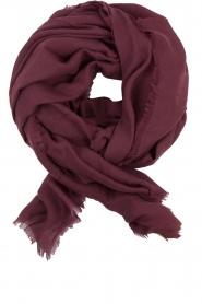 Becksöndergaard | Wollen sjaal Mill | rood  | Afbeelding 1
