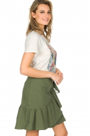 Set |  Skirt Idaia | khaki green  | Picture 5
