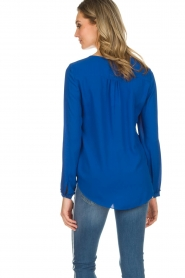 Kocca |  Top with small ruffles Drano | blue  | Picture 5