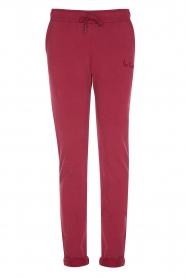 Les Favorites |  Sweatpants Bente | red  | Picture 1