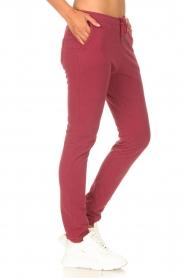 Les Favorites |  Sweatpants Bente | red  | Picture 5