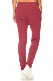 Les Favorites |  Sweatpants Bente | red  | Picture 6
