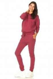 Les Favorites |  Sweatpants Bente | red  | Picture 3