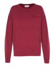 Les Favorites    Sweatshirt Danie   red    Picture 1