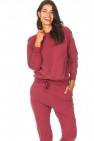 Les Favorites    Sweatshirt Danie   red    Picture 4
