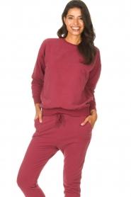 Les Favorites    Sweatshirt Danie   red    Picture 2