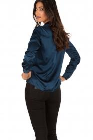 Silk blouse Maryse | blue