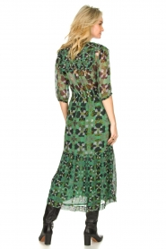ba&sh |  Floral midi dress Hooper | green  | Picture 5
