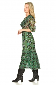 ba&sh |  Floral midi dress Hooper | green  | Picture 4